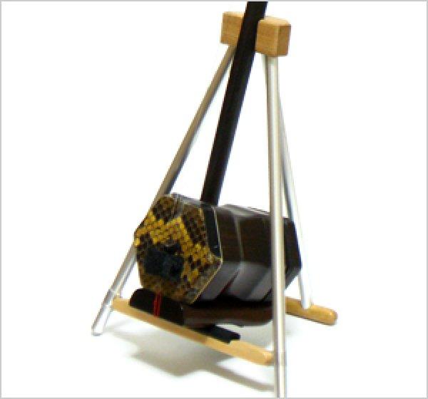 画像1: 超軽量!折りたたみ二胡スタンド (1)